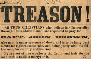 Treasonous JOHN BROWN